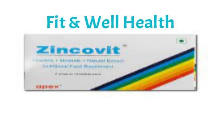 Zincovit tablet uses in Hindi जिंकोवित टेबलेट के उपयोग फायदे और साइड इफेक्ट